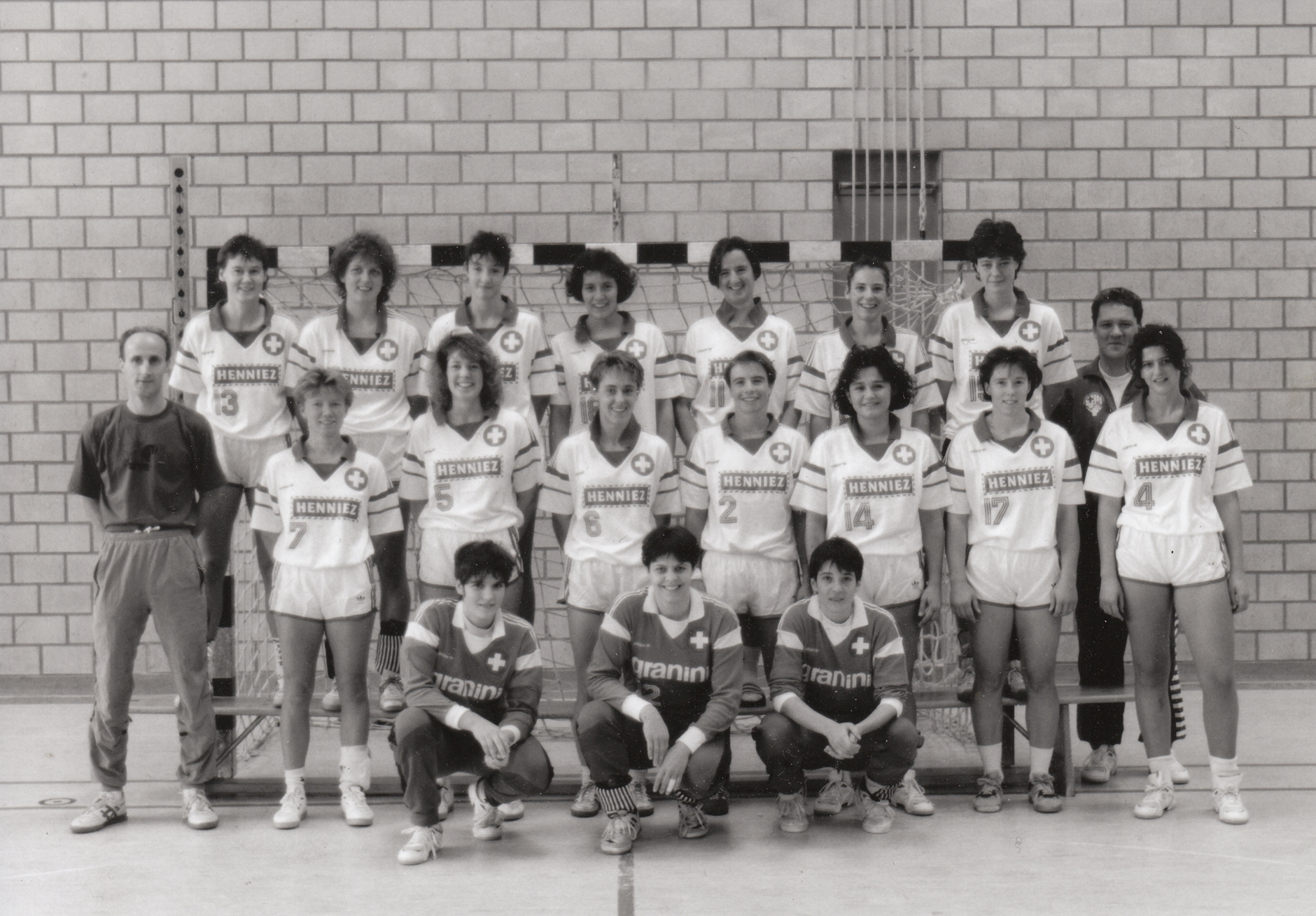 1995 Teamfoto Frauen Nati – in Littau