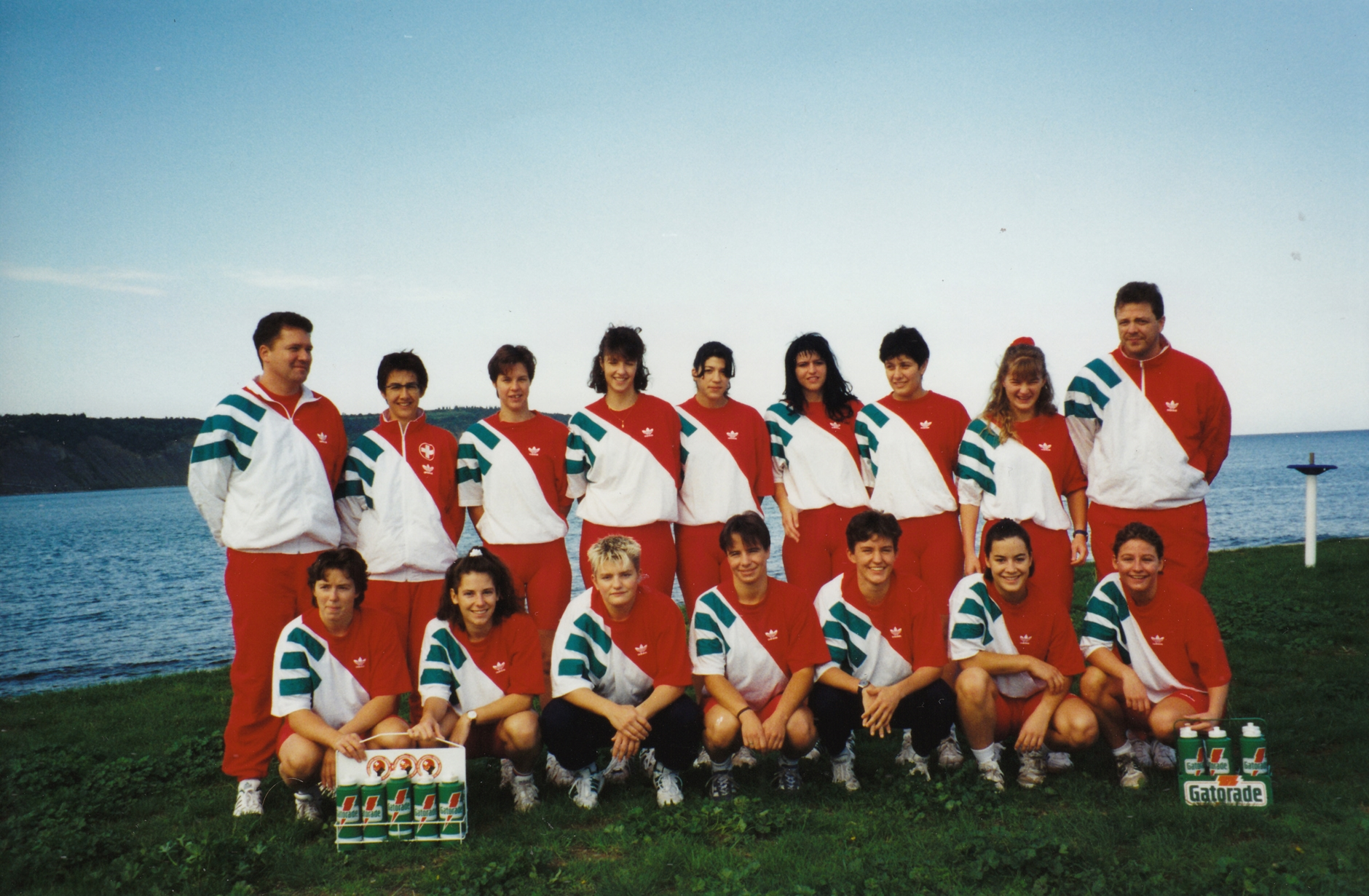 Teamfoto Frauen Nati-A, Trainingslager in Ljubljana  September 1995