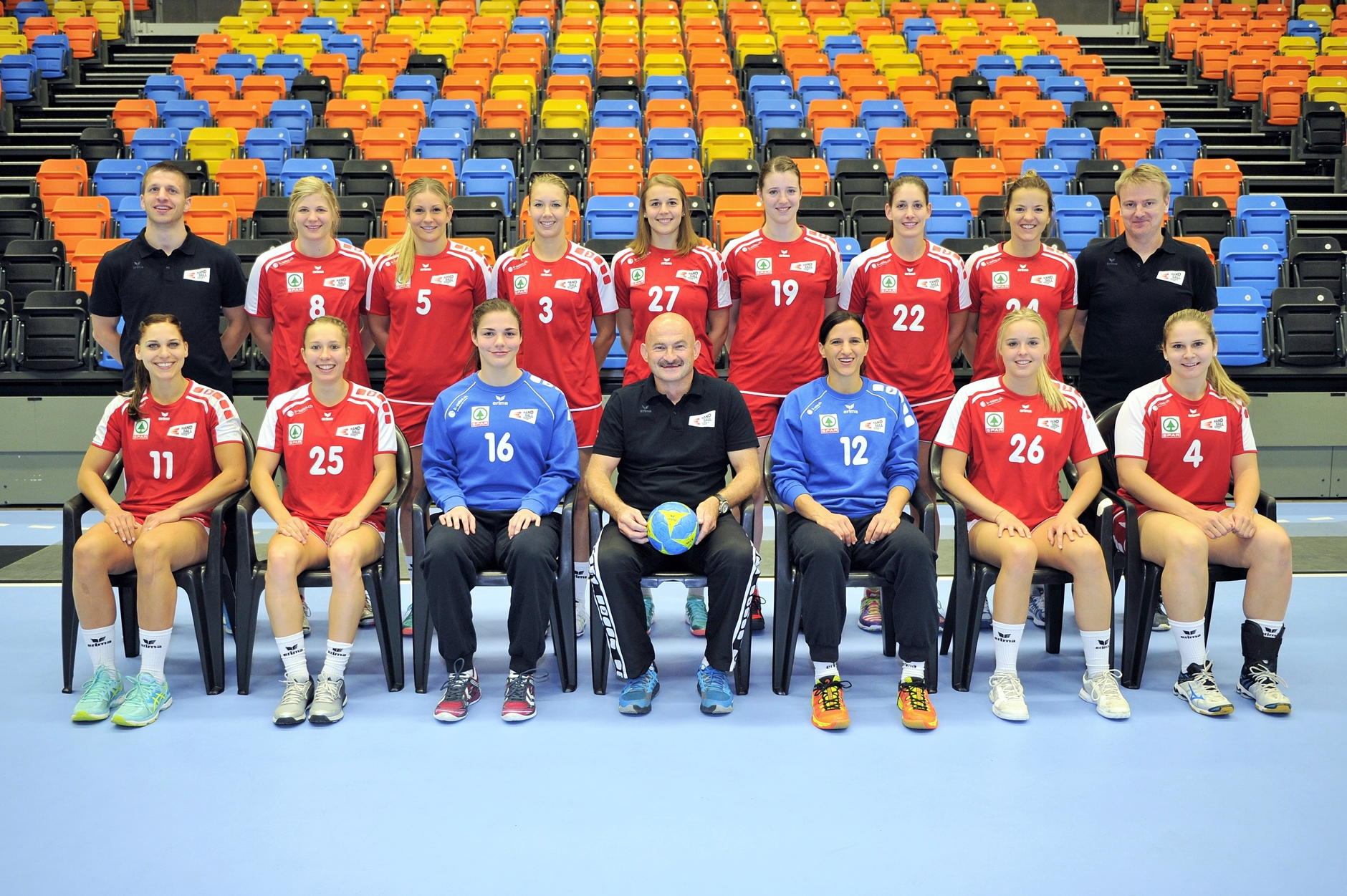 2016-10-05 Schweizer Frauen A-Nationalteam
