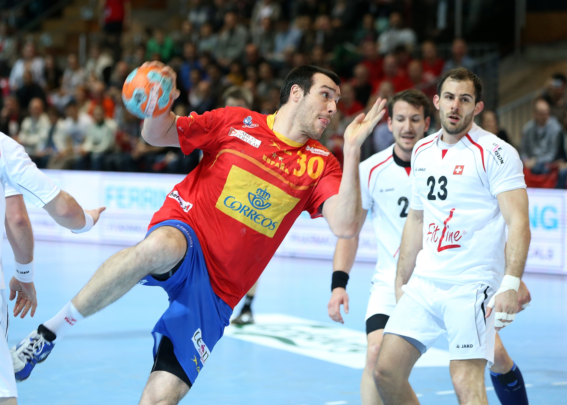 5. April 2014: Swiss Handball Cup in Lausanne