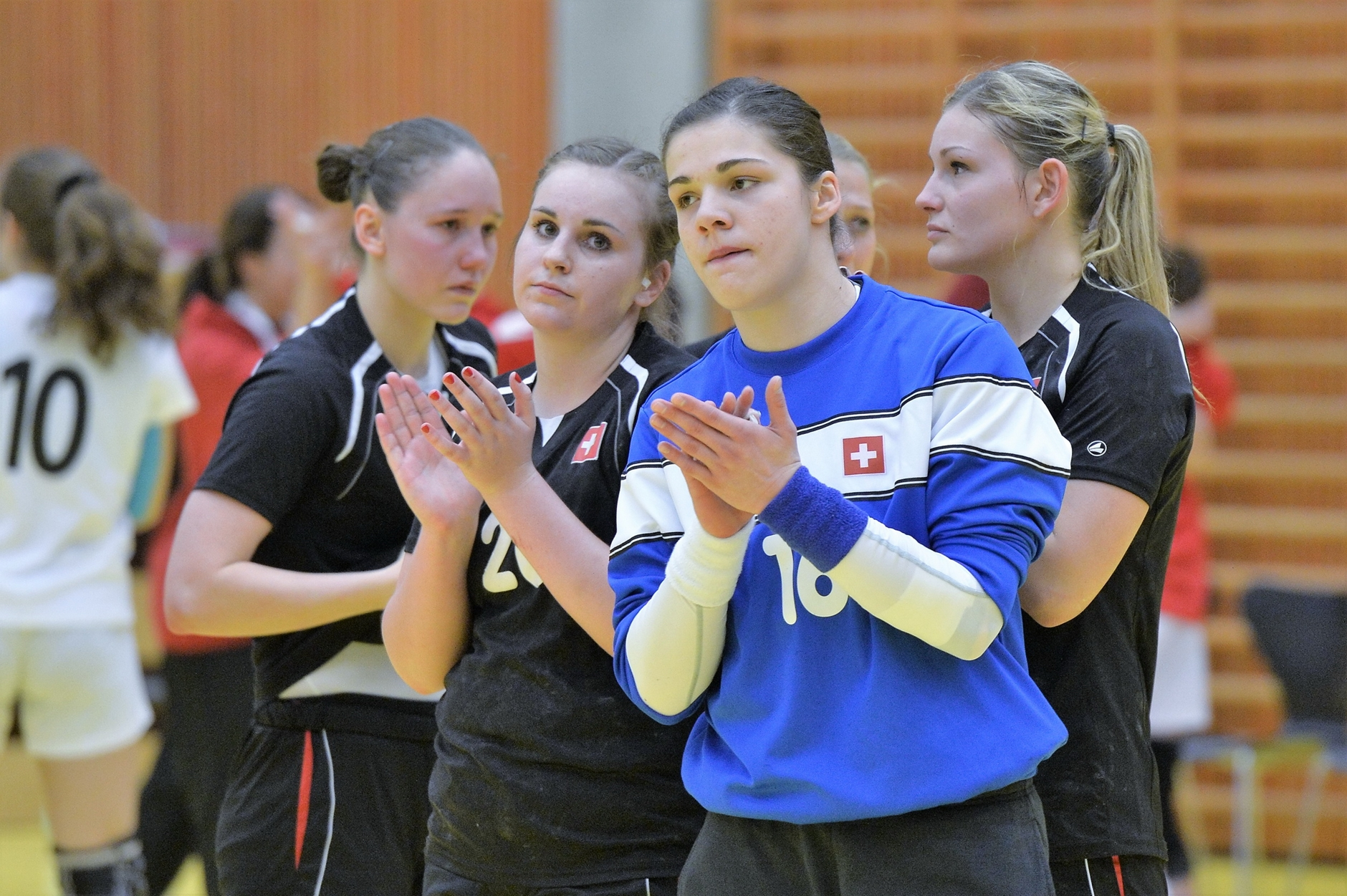 19. April 2014: U20-WM-Qualifikation in Zug