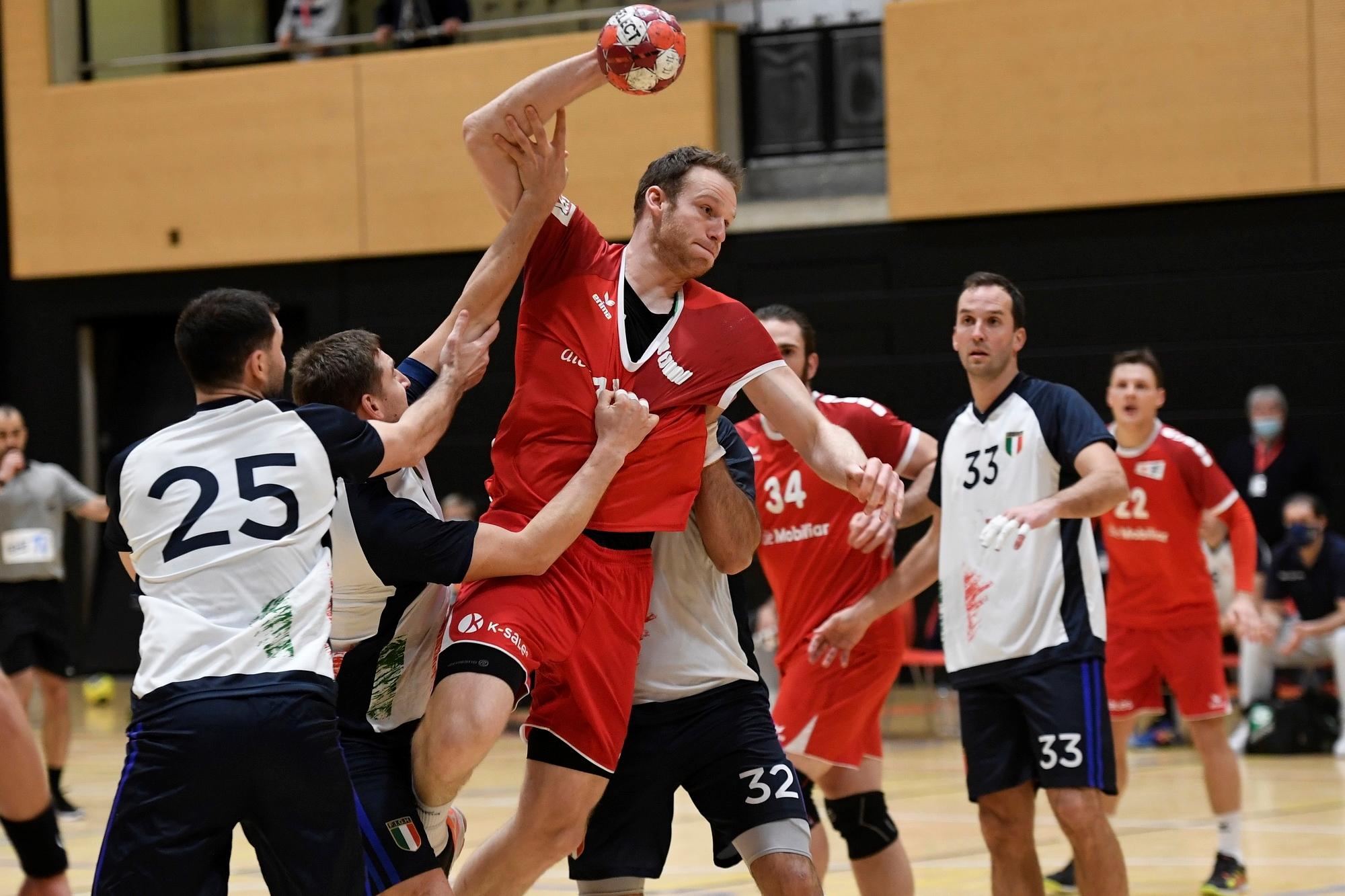 Handball, Nationalteam: Schweiz - Italien