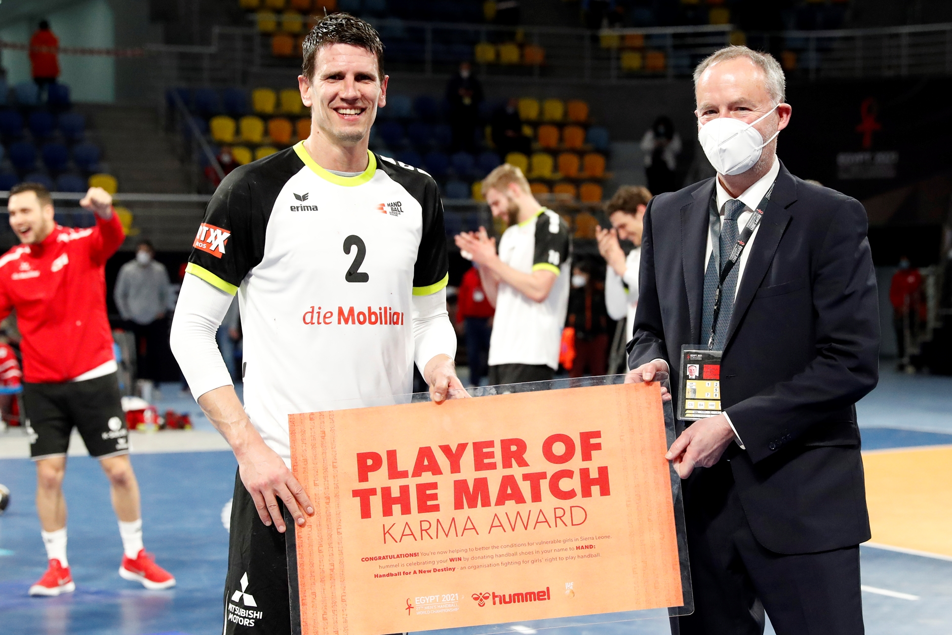 "Andy Schmid ""Player of the Match"""